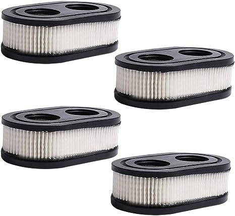 Casinlog 593260 798452 Lot de 2 cartouches de filtre /à air pour tondeuse /à gazon Briggs /& Stratton 550E-550EX Series 4247 5432 5432K