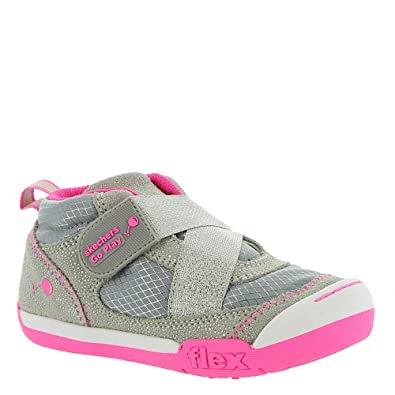a9363b32bfa66 Skechers Flex Play-Early Start Girls' Infant-Toddler Sneaker 4 M US Toddler