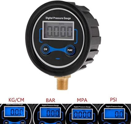 Neumáticos Manómetro digital bici del coche de la motocicleta del ...