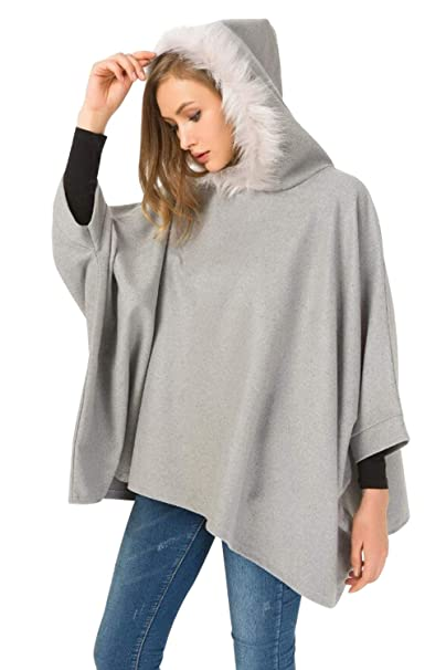 mantella con cappotto donna