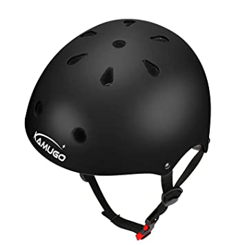Amazon.com: KAMUGO - Casco ajustable para niños de 3 a 8 ...
