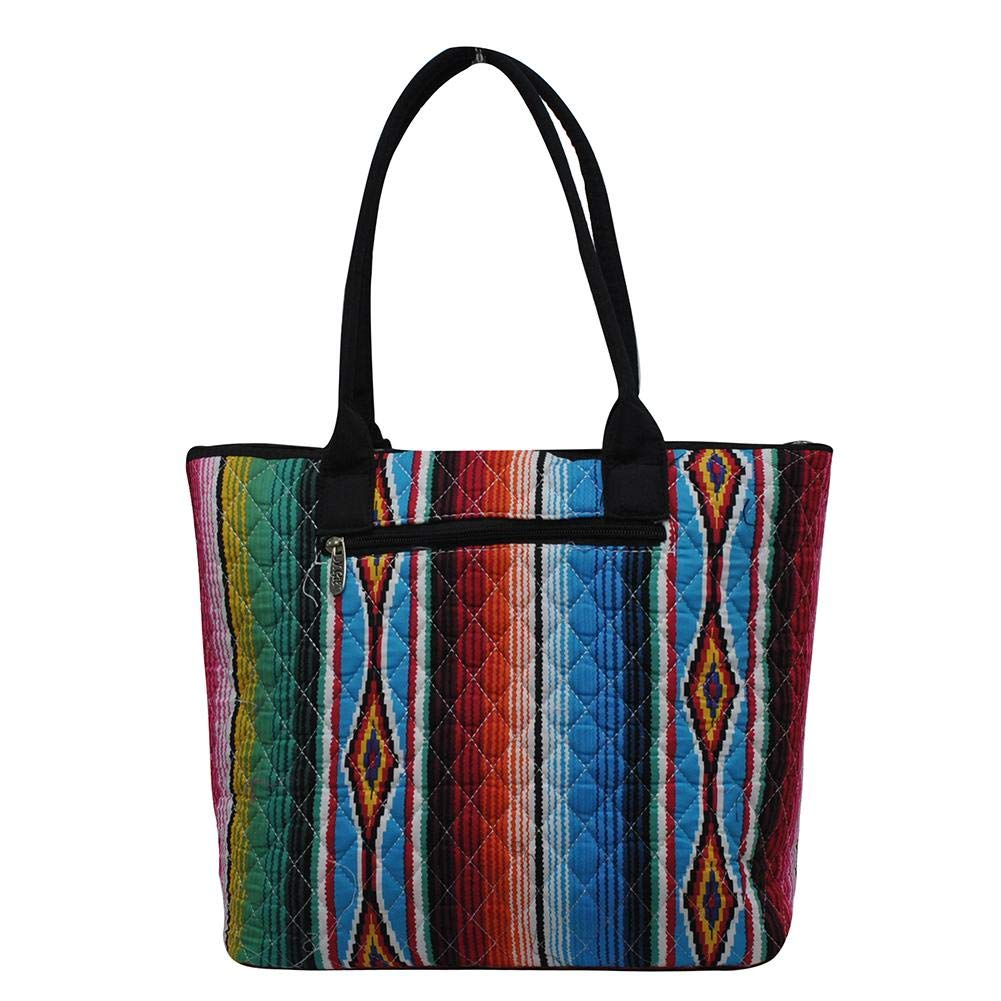 56a27c0b0adf Ngil Quilted Cotton Medium Tote Bag 2018 Spring Collection (Serape Black)