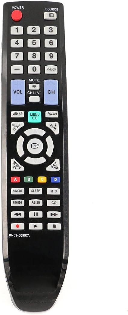 Vinabty reemplazado control remoto del televisor BN59-00997A ...