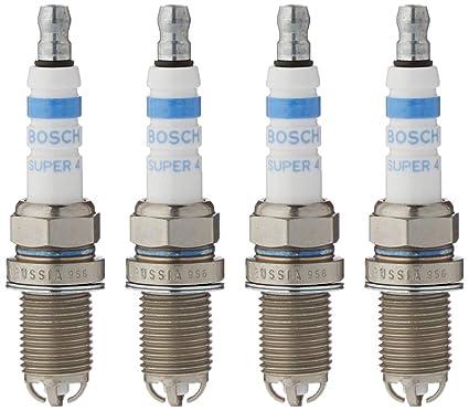 Bosch FR78X N50 - Bujías (4 unidades): Amazon.es: Coche y moto