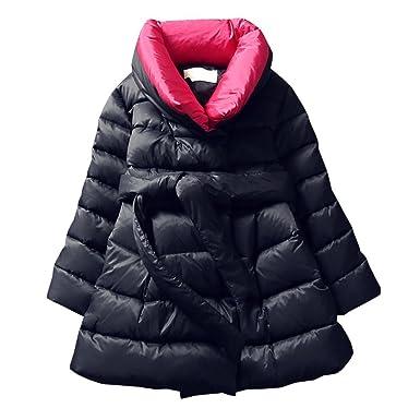 3303b54c6 Amazon.com: M&A Girls Winter Warm Down Jacket Puffer Coat Cotton ...