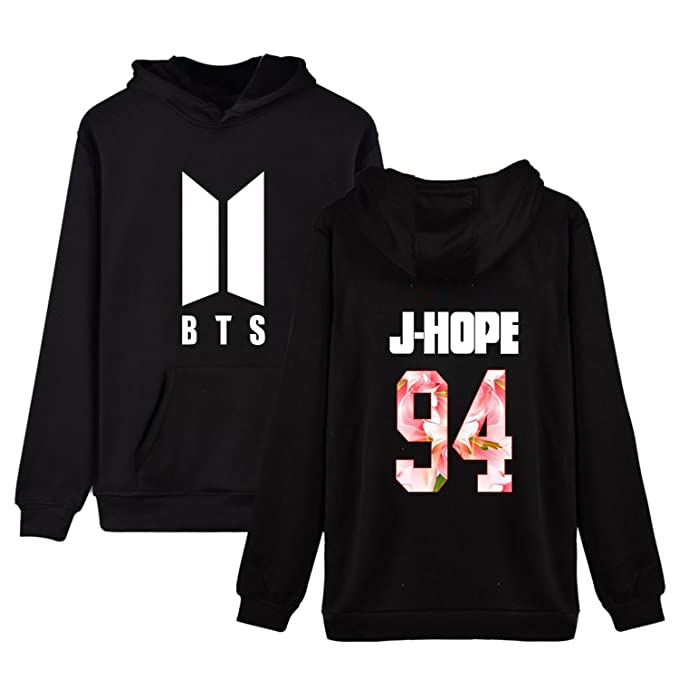 Amazon.com  Dolpind Kpop BTS New Logo Hoodie Bangtan Boys Unisex  Sweatershirt JIN SUGA Jimin V  Sports \u0026 Outdoors