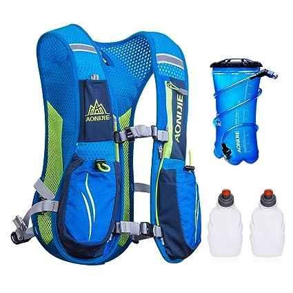 Amazon.com: AONIJIE - Chaleco de hidratación para correr con ...