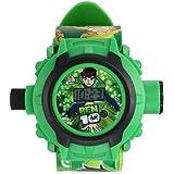 Ben 10 Projector Digital Green Kid's Watch