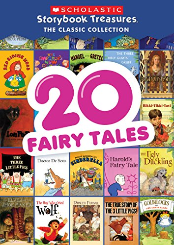 Animated Fairy Tales - 20 Fairy Tales: Scholastic Storybook Treasures: Classic Collection