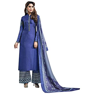 Diseñador Bollywood Plajo Colección Straight Kameez Salwar ...