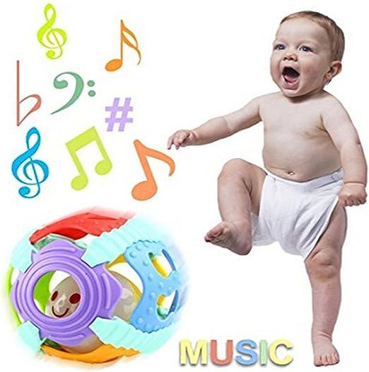Fligatto Pelota de Juguete para bebé, Instrumento Musical, Campana ...