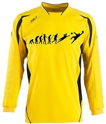 quality design a6dec 670a6 Coole-Fun-T-Shirts Torwart Evolution Kinder und Erwachsene Fußball Trikot  Torwarttrikot Kids 6-8 Jahre, 10-12 Jahre, SML/XL XXL
