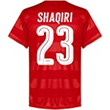 Switzerland Home Shaqiri Jersey 2016 / 2017 (Fan Style Printing)