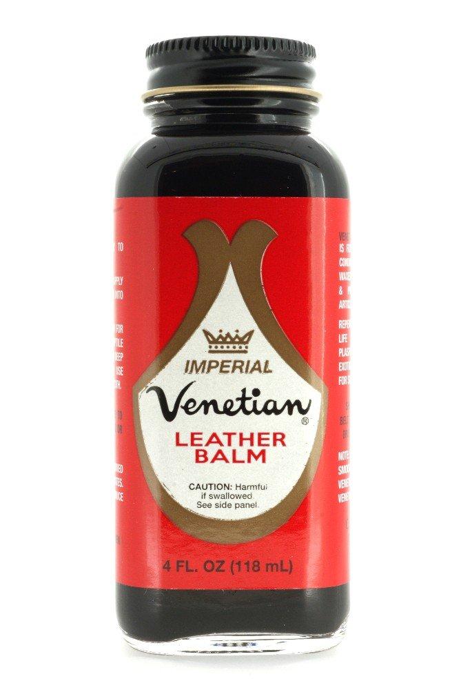 Venetian Imperial Leather Balm, 4 Ounces, Black