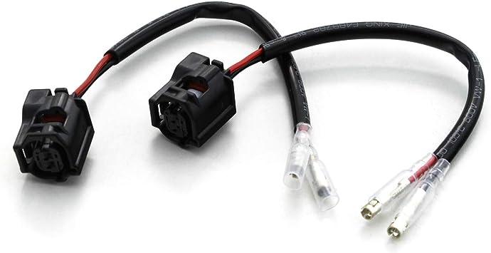Motorrad Blinker Adapter Kabel kompatibel mit Yamaha MT Modelle 2 St/ück