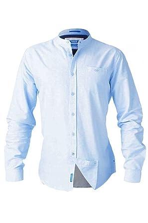 b34b1d3a745 Mens Duke D555 Bernard Big Tall King Size Smart Casual Grandad Oxford  Cotton Shirt at Amazon Men s Clothing store