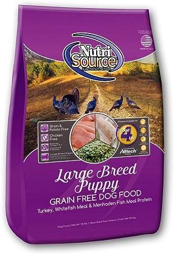 Nutrisource Grain Free Turkey Large Puppy 30Lb