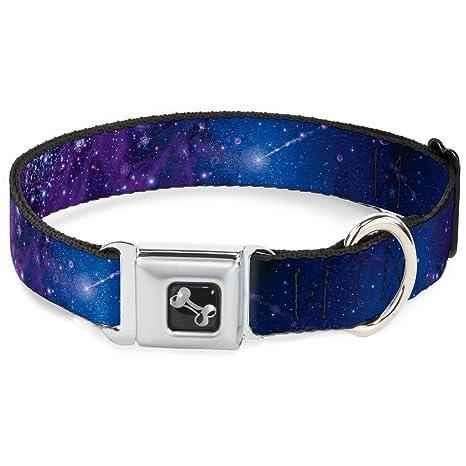 Buckle Down DL-W30753-N Narrow 0.5 Galaxy Blues//Purples Dog Leash 4