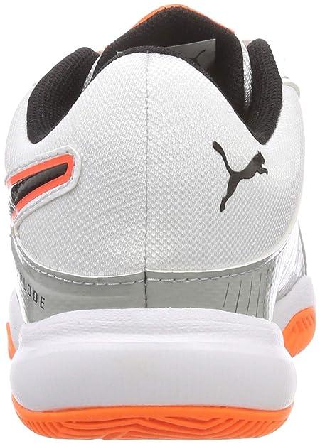 new arrival f5ee5 e8513 White Mixte De Blanc 3 Explode Puma Handball Chaussures Enfant Jr B4IY8zwq