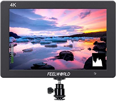 FEELWORLD FW279 7 Inch 2200nit Daylight Viewable Full HD 1920x1200 IPS Panel DSLR On Camera Field Monitor 4K HDMI Input//Output Video Assist Peaking Focus