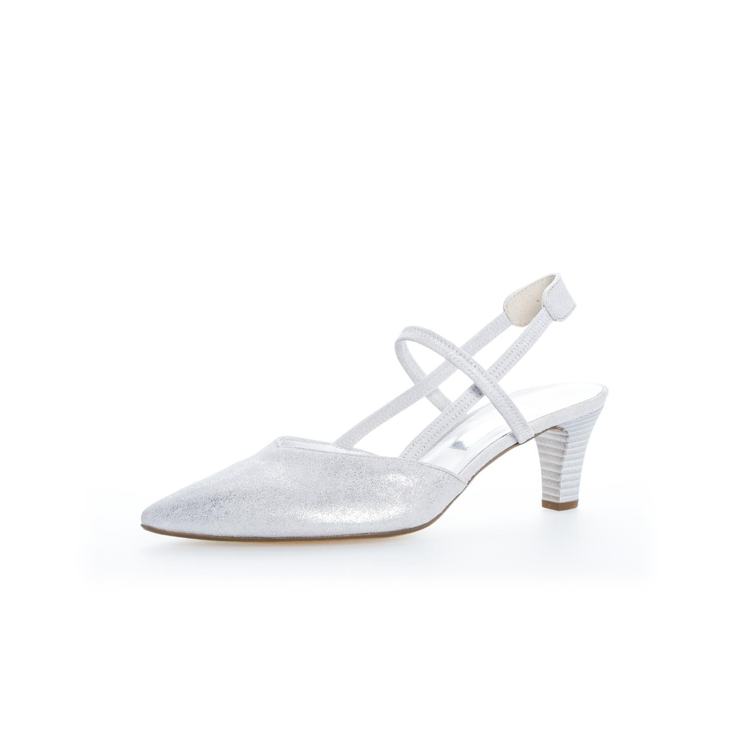 Ice (+Absatz) Gabor Damen Pumps 81.554.61 grau 256110