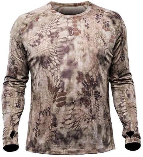 Kryptek 17HOPLWLSCH2 - Camiseta de Caza para Hombre, Talla Mediana: Amazon.es: Deportes y aire libre