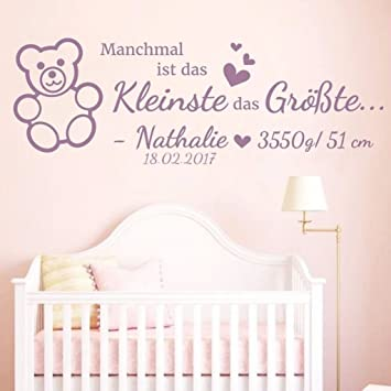 wandtattoos baby m dchen reuniecollegenoetsele. Black Bedroom Furniture Sets. Home Design Ideas