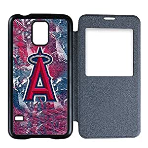 Special Designed Samsung Galaxy S5 Flip Cover Case with Los Angeles Angels Team-by Allthingsbasketball