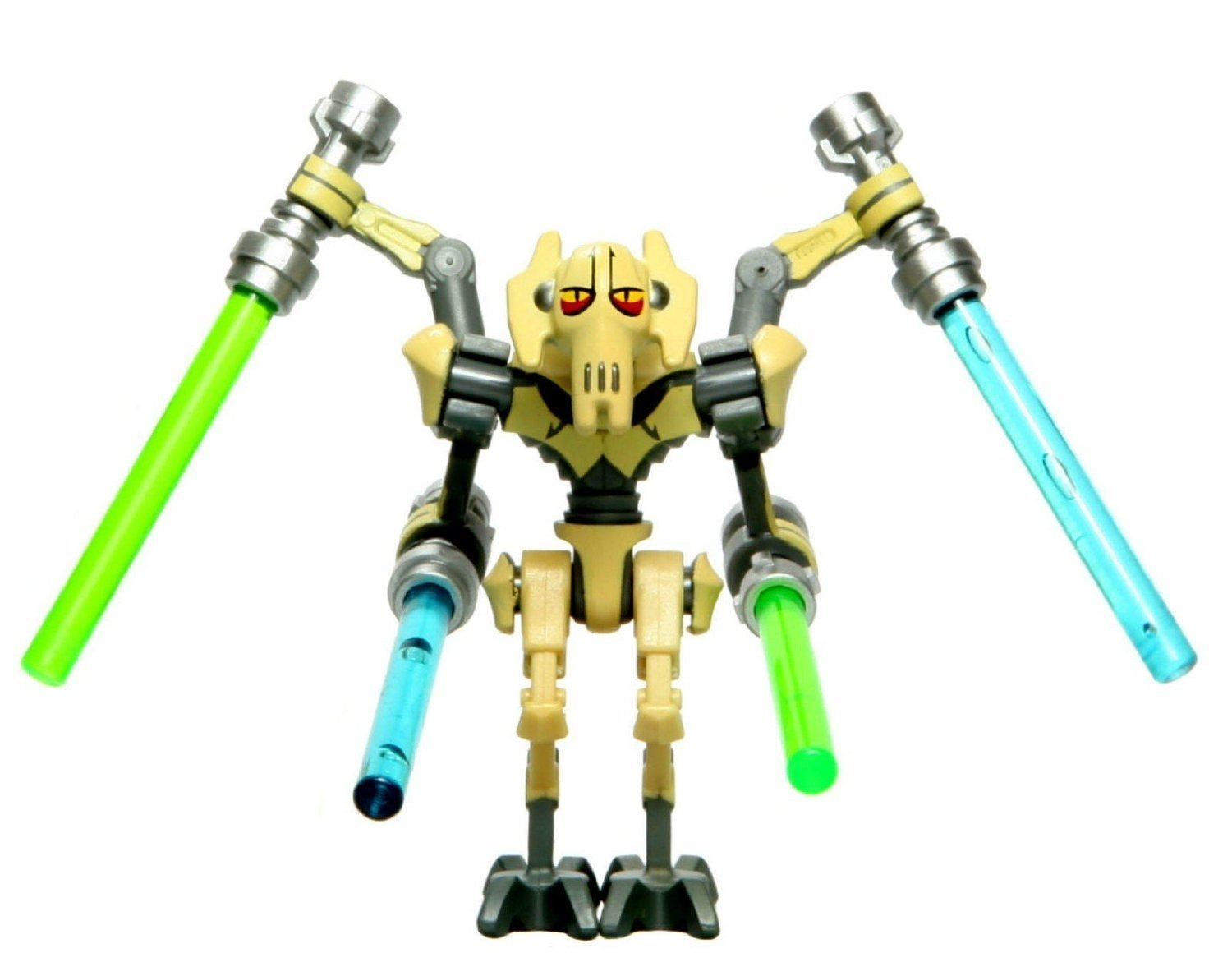Uncategorized Pictures Of General Grievous amazon com lego star wars minifigure general grievous clone version tan 2010 toys games