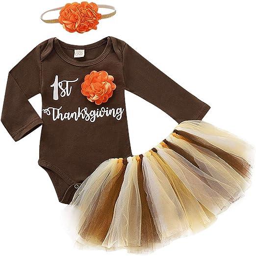 Leg Warmers Headband Christmas Outfits Baby Girl Tops Romper Tulle Tutu Dress