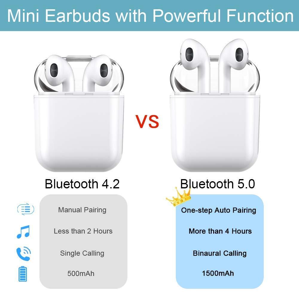 Auriculares Bluetooth,i8x Auriculares Inalámbricos Auriculares Bluetooth 4.1 In Ear Auriculares Auriculares Estéreo In-Ear Micrófono Manos Libres ...