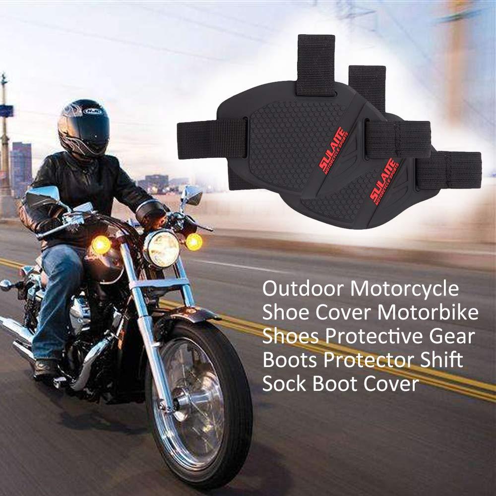 Lepeuxi en Plein air Moto Couvre-Chaussures Moto Chaussures De Protection Bottes Protecteur Shift Sock Boot Cover