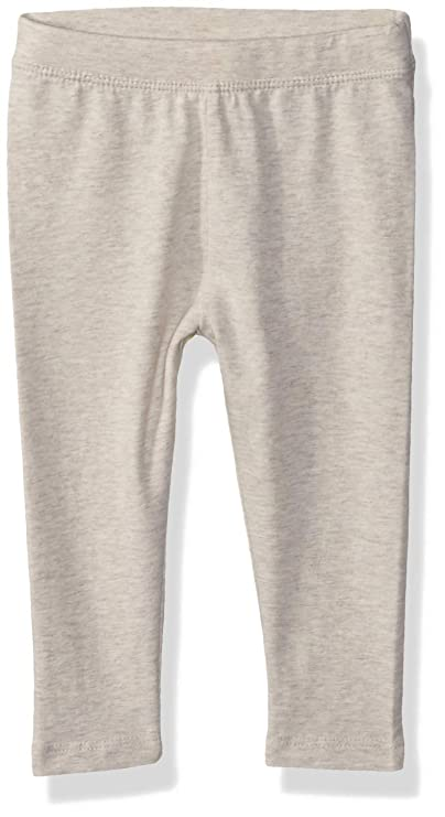 Gymboree Girls' Big Leggings, Oatmeal, 3T