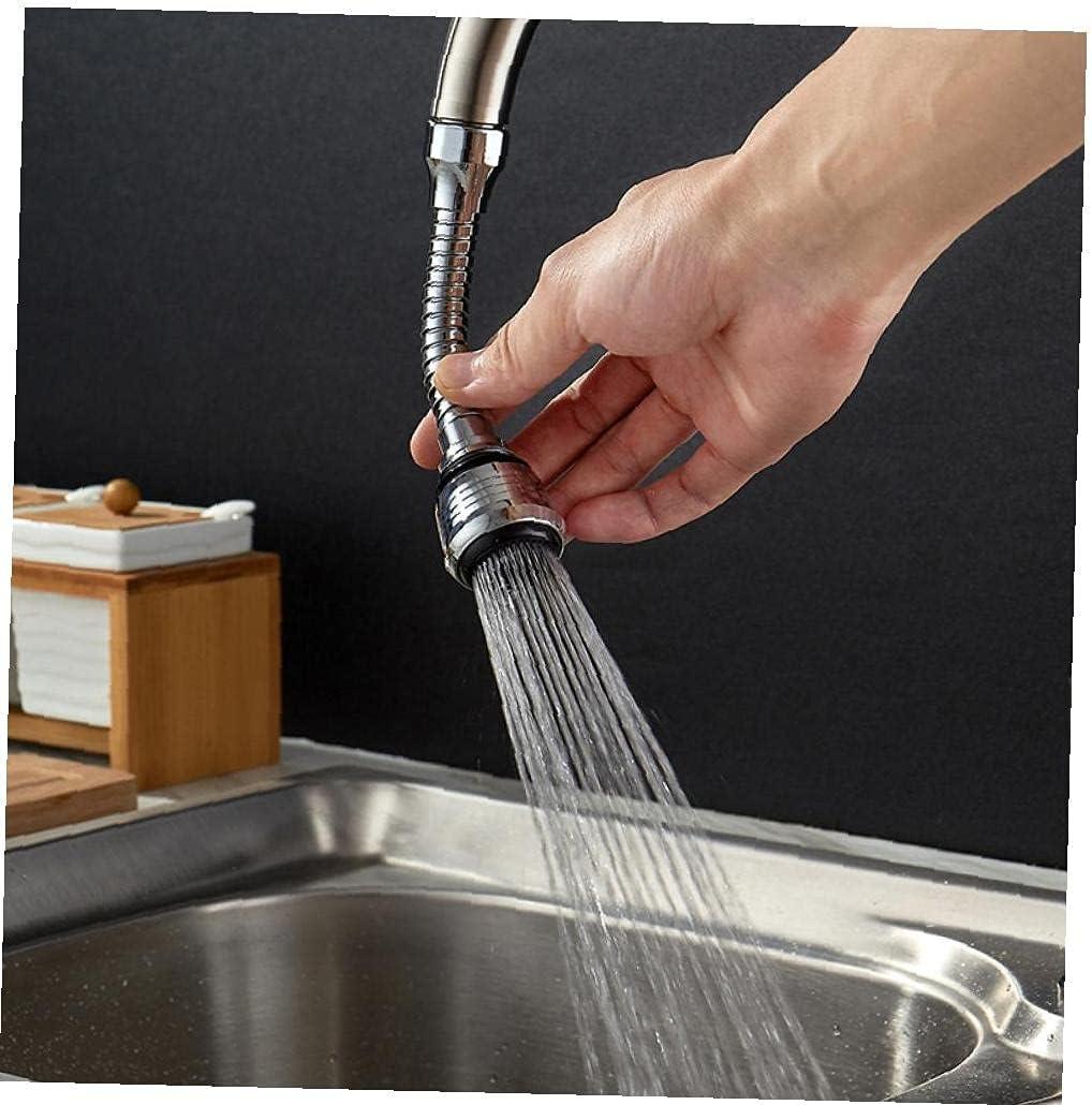 1pc 360 Grados Conector De Ahorro De Agua Agua Boquilla Filtro Ba/ño Cocina Adaptador Flexible Grifo Tap Tap Aireador Difusor
