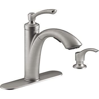 waterridge kitchen faucet water ridge pull out kitchen faucet amazon com 7246