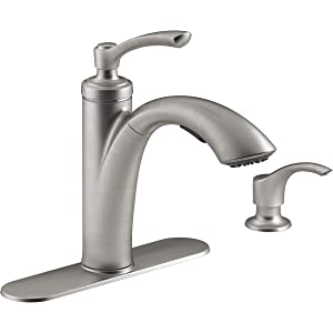 KOHLER R29670-SD-VS Ss Pullout Kit Faucet