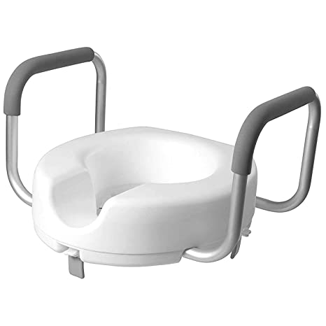Peachy Dmi Locking Raised Toilet Seat With Arms Gmtry Best Dining Table And Chair Ideas Images Gmtryco