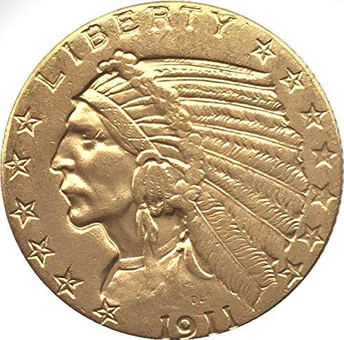 coin-1911-5-indian-head-half-eagle-replica