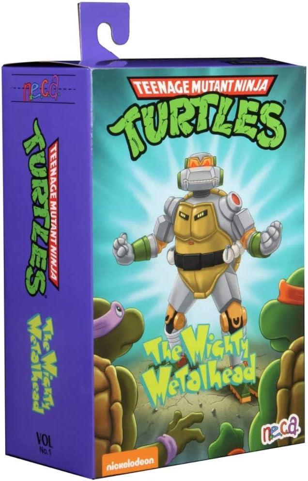 Neca tartarughe ninja tartarughe cartoon metalhead da 7