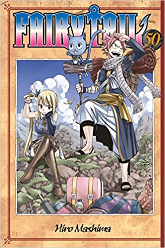 Fairy Tail 50 Hiro Mashima 9781612629865 Amazon Com Books