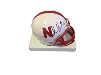 82b97620e06 Ndamukong Suh Nebraska Cornhuskers Signed Mini Helmet - JSA Certified -  Autographed College Mini Helmets