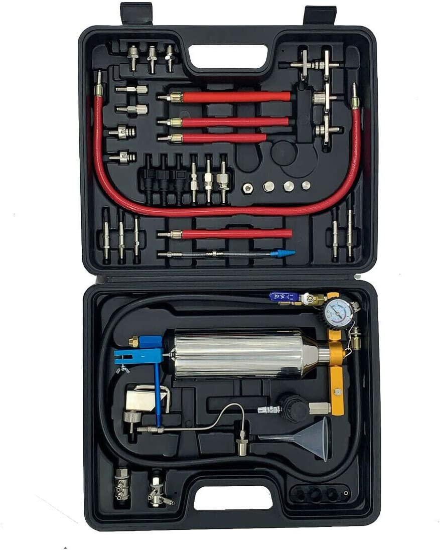 TABODD 800ML Non-dismantle Fuel Injector Cleaner Kit Automotive Non-dismantle Fuel Injector Tester /& Cleaner Complete Package for Petrol Cars