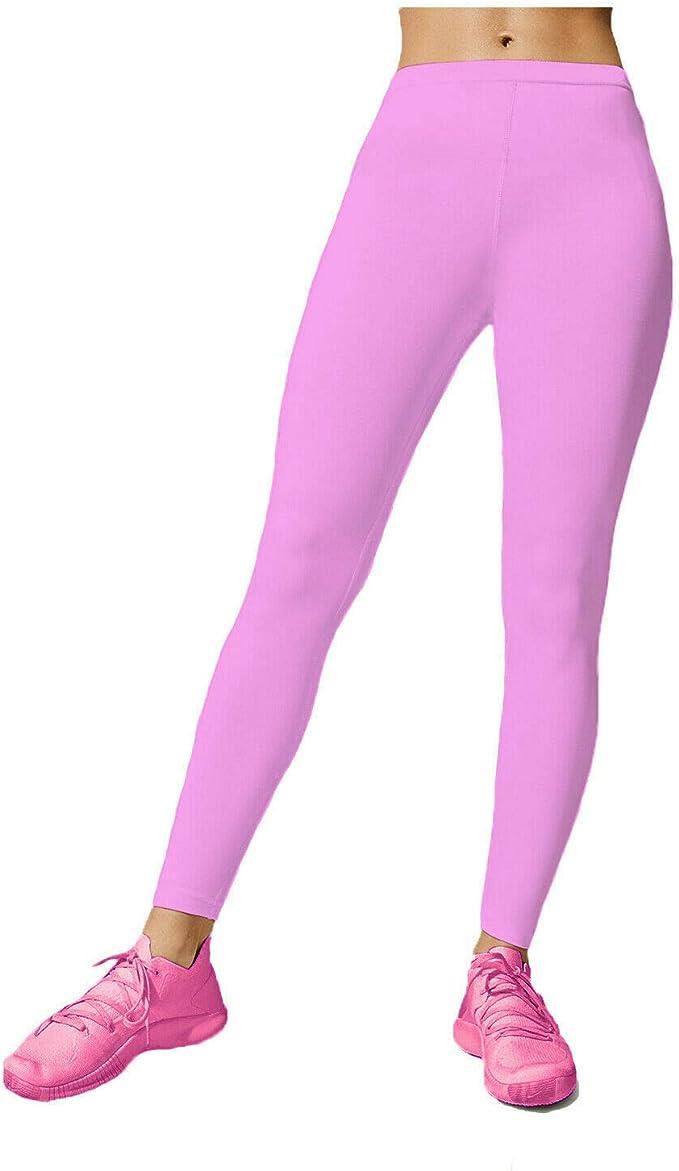 Childrens Girls 3//4 Length Cotton Plain Legging Dancewear Skinny Stretch Pants