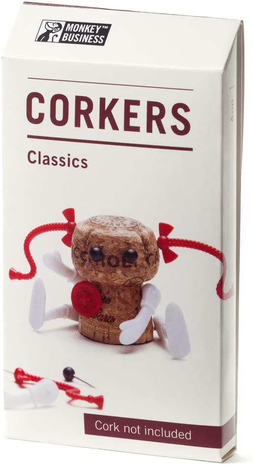 marron Monkey Business Corkers Classics Poup/ée de chiffon