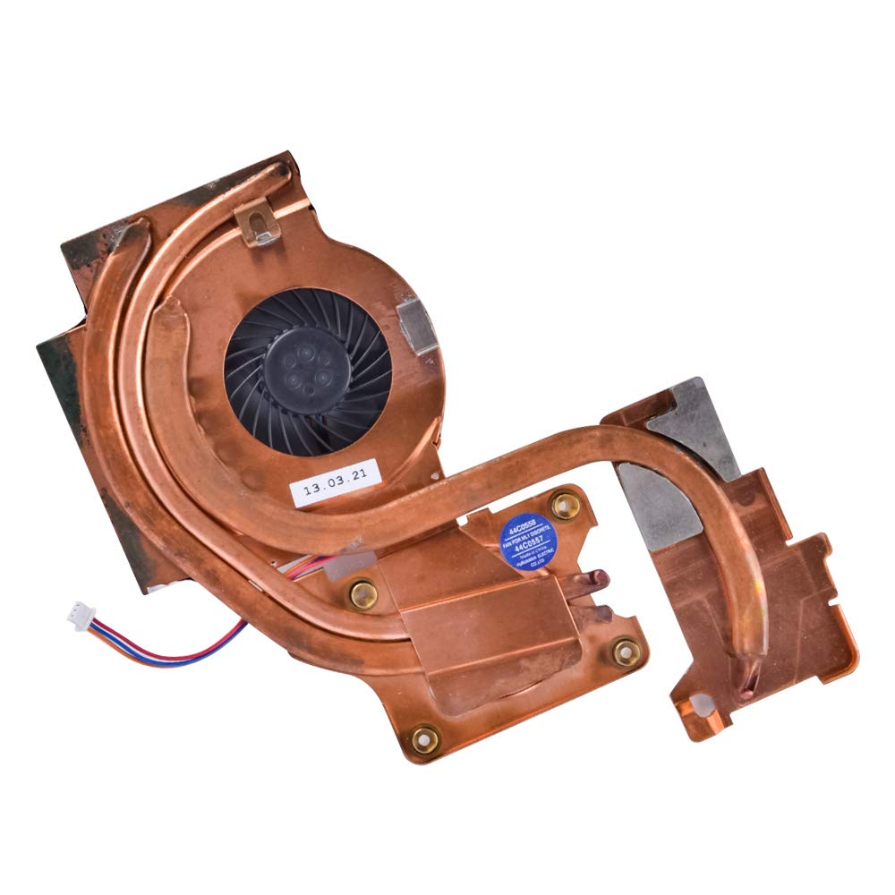 "Eathtek Replacement CPU Cooling Fan with Heatsink Compatible for IBM Lenovo T61 T61p 14"" 44C0558 Series"