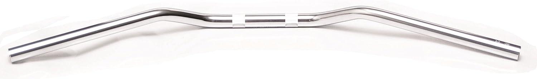 MANUBRIO NUDO CROMATO PER CICLOMOTORE BOXER DIAMETRO 22 MM COMPLETO DI VITE