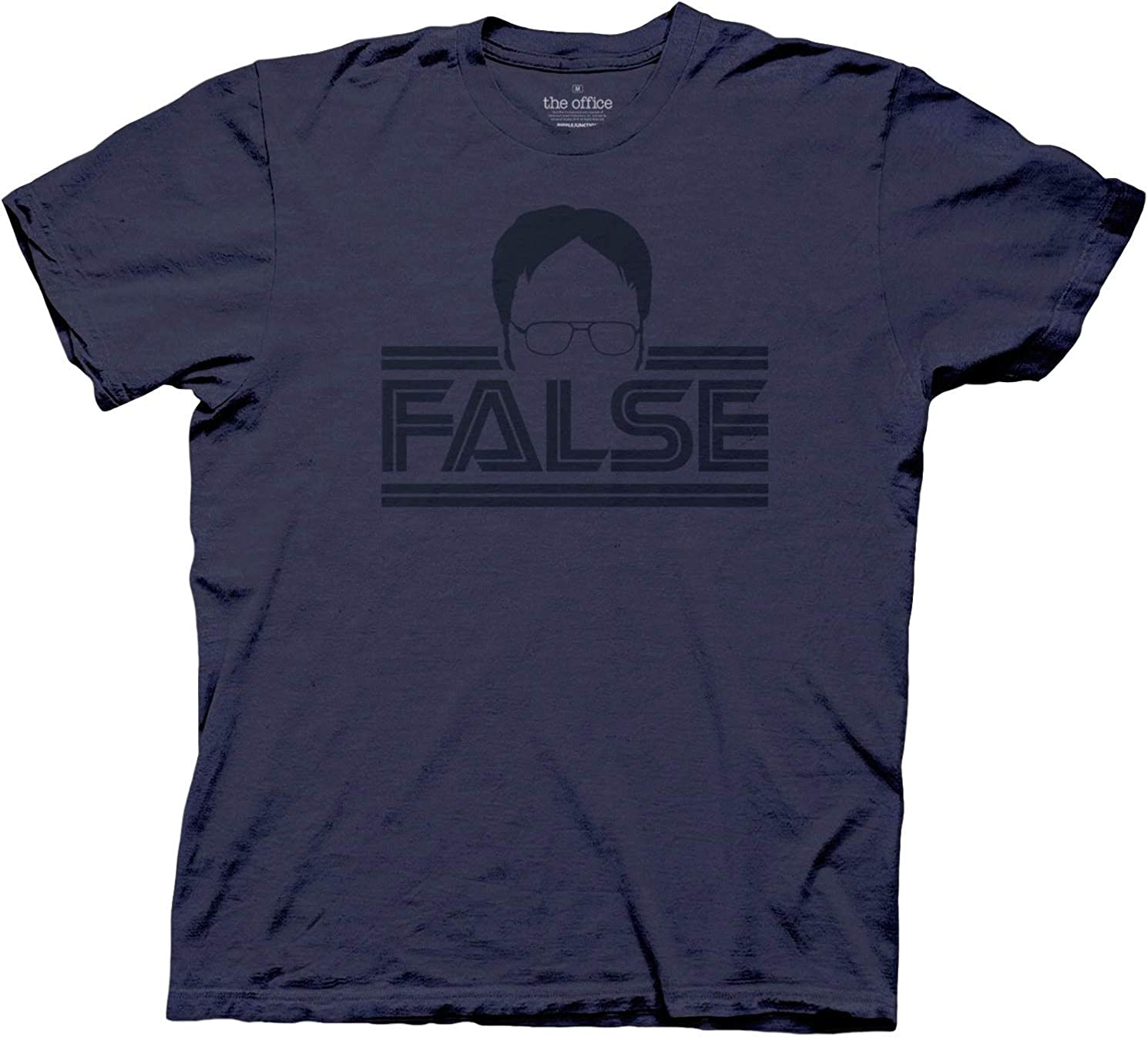 Ripple Junction The Office Men's Dwight Silhouette False T-Shirt