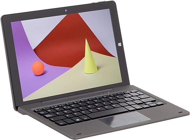Schneider Consumer - Dual Book SCT101CTM, Tablet con Teclado, 10 Pulgadas, Full HD, Windows 10, 2GB RAM, 32GB ROM/Flash, Intel Cherrytrail ...