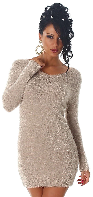 Luxestar Damen Strickkleid & Pullover weich & flauschig: Amazon.de ...