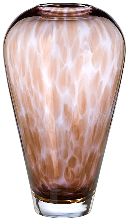 Amazon Evolution By Waterford Urban Safari 8 Inch Spotted Vase